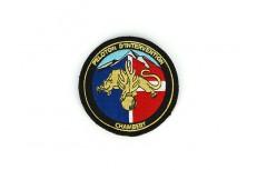 Écussons brodés militaires peloton d'intervention de la gendarmerie