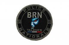 Écussons brodés de la police nationale