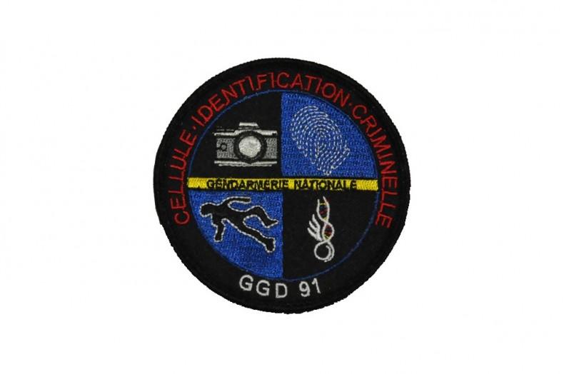 2681a9114be Écussons personnalisés brodés Gendarmerie Nationale