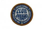 Ecusson rond brodés Club Dynamo
