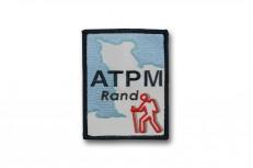 Écussons brodés rectangulaires pour le club de rando ATPM