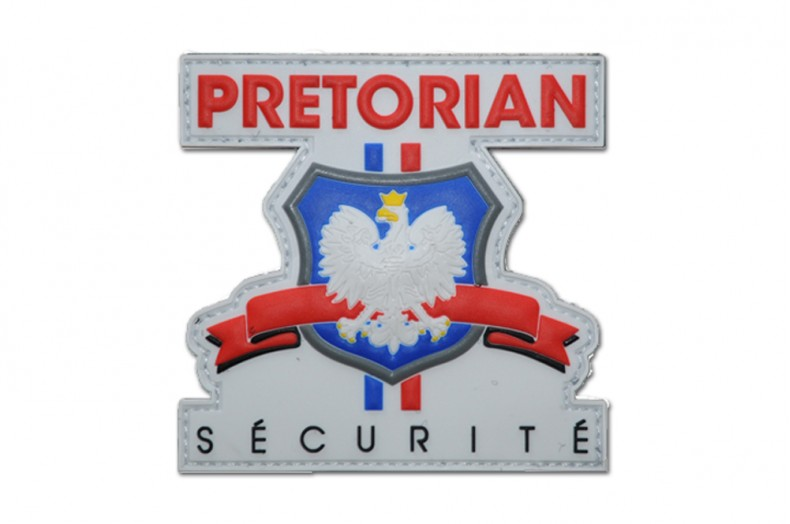 Écussons personnalisés PVC pour Pretorian Sécurité